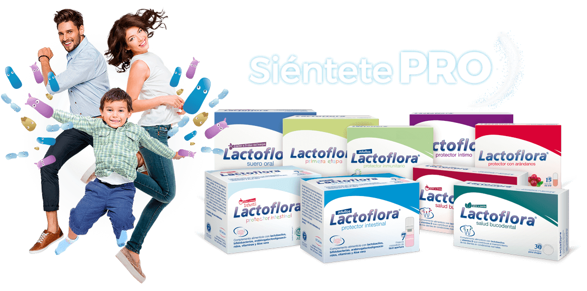 Lactoflora Gama de Probioticos