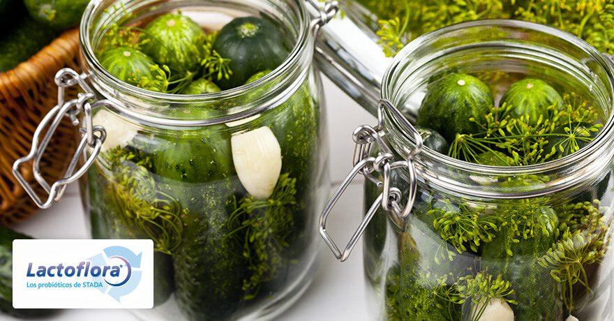 Recetas con probióticos: Pickles de verduras