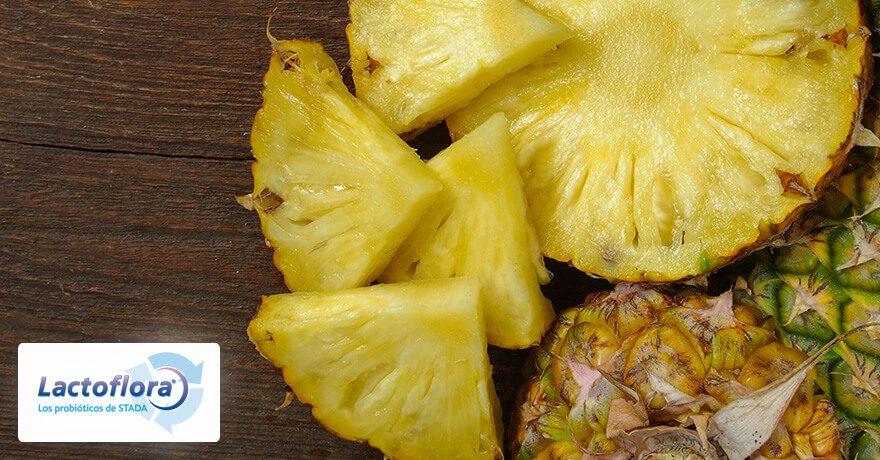 Piña fermentada, rica en probioticos