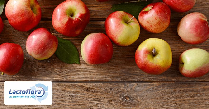 Alimentos que mejoran la digestion: Manzana