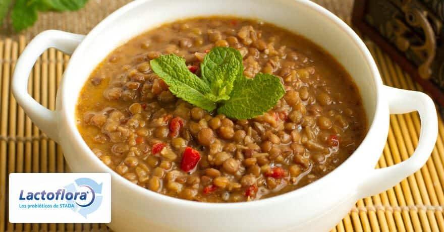 Alimentos que mejoran el estado de ánimo: Lentejas