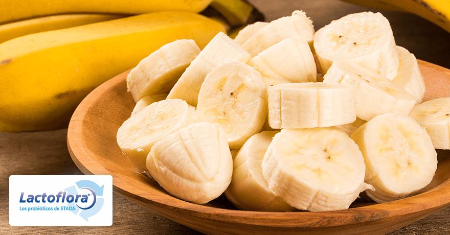 Alimentos que mejoran el estado de animo: Plátano