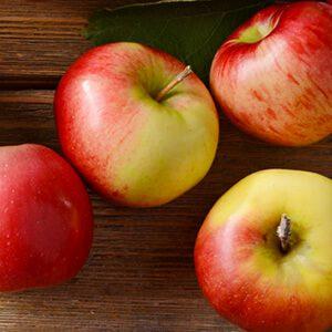 alimentos saludables: manzana