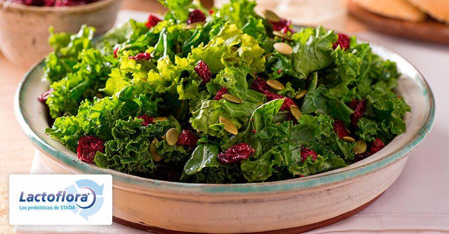Alimentos que mejoran el estado de ánimo: Kale