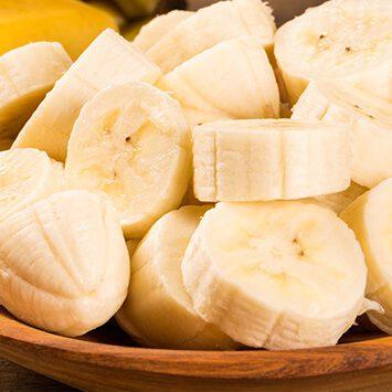 alimentos saludables: platano