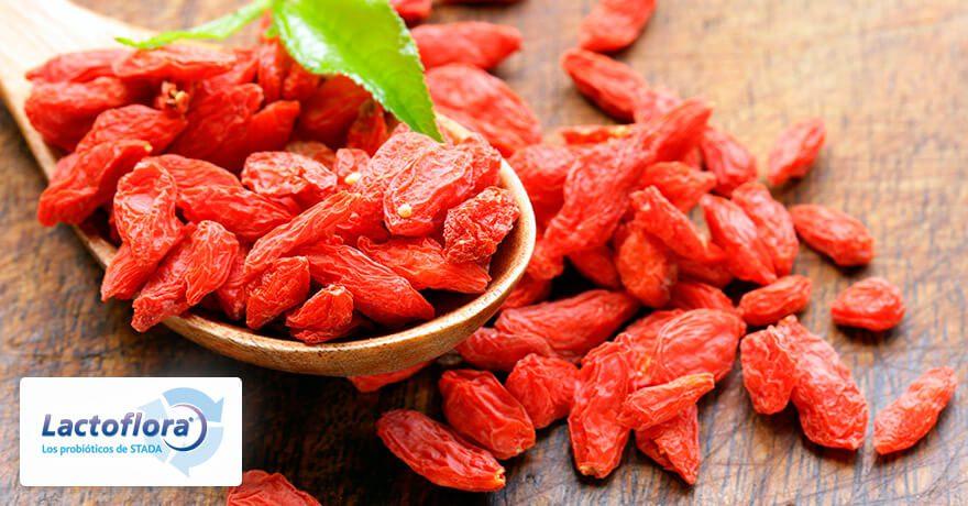 Alimentos que mejoran el estado de ánimo: bayas de goji