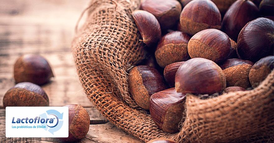 alimentos saludables: castañas