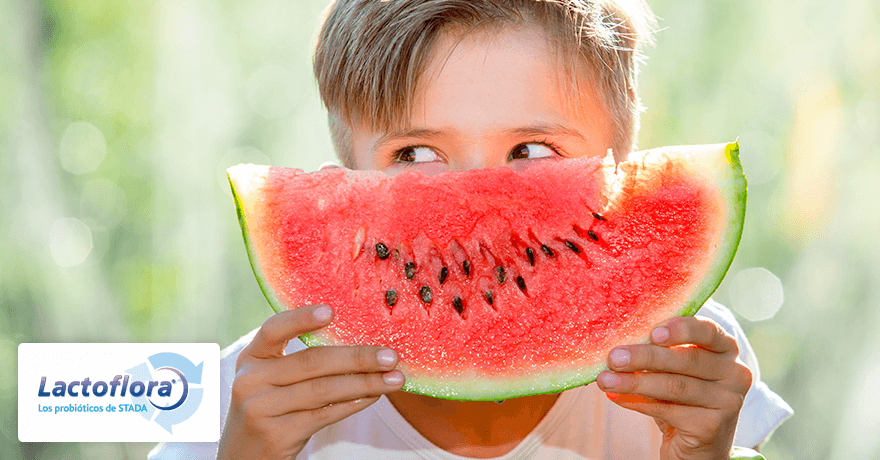 Alimentos saludables: sandia