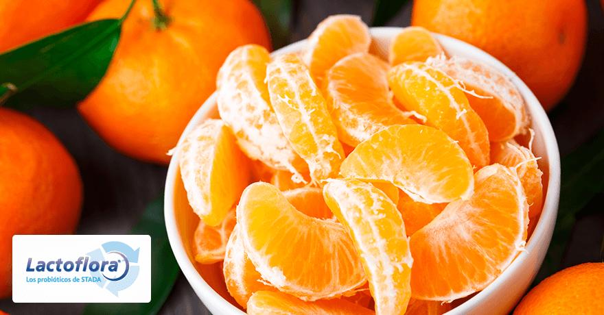 Alimentos que mejoran el estado de ánimo: las mandarinas