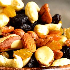 Alimentos saludables: frutos secos