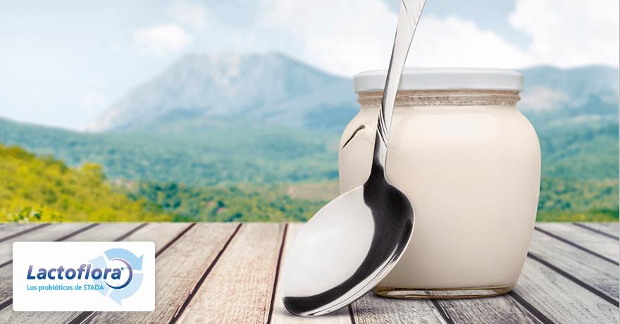 Alimentos saludables: yogur