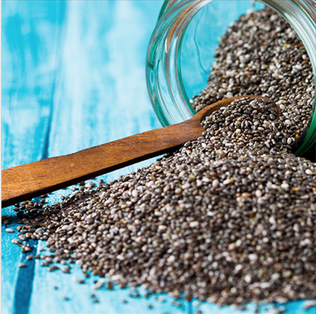 alimento saludable semillas chia