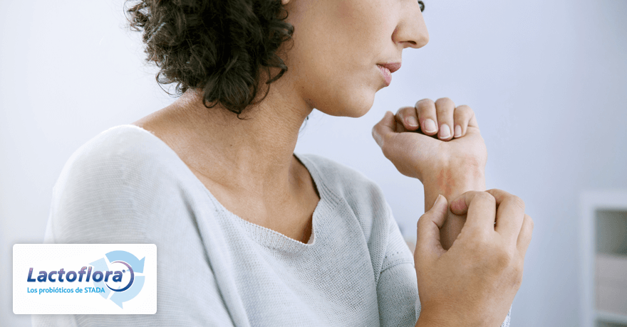 El beneficio de los probióticos en el eczema atópico