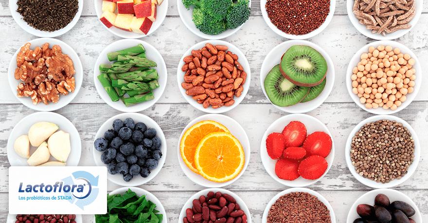 Alimentos para buen funcionamiento intestinal