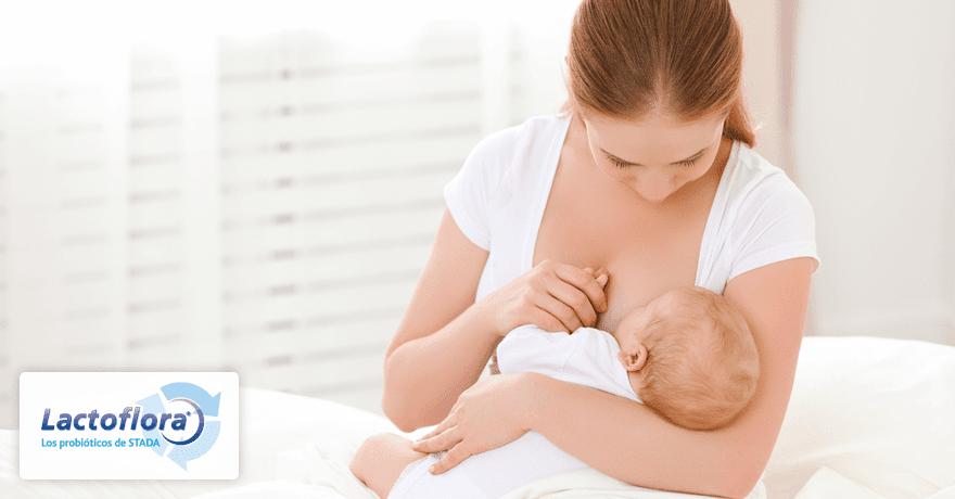 La leche materna también tiene bacterias probióticas