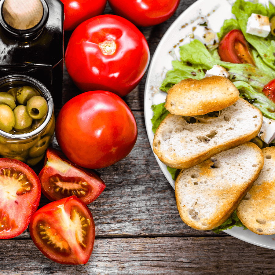 dieta mediterranea prebioticos