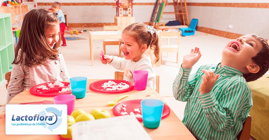 habitos alimentarios saludables en la infancia