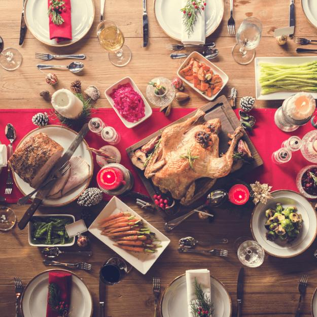 alimentos saludables para Navidad