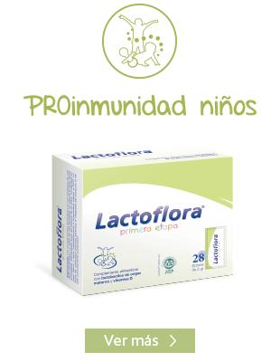 Lactoflora protector sistema inmunitario niños