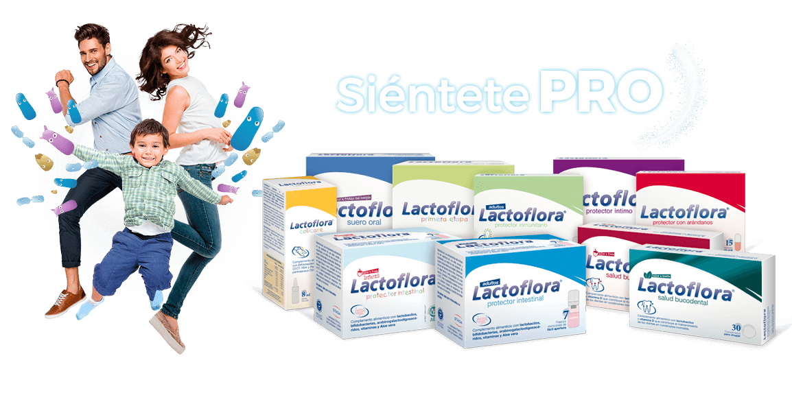 complementos alimenticios Lactoflora