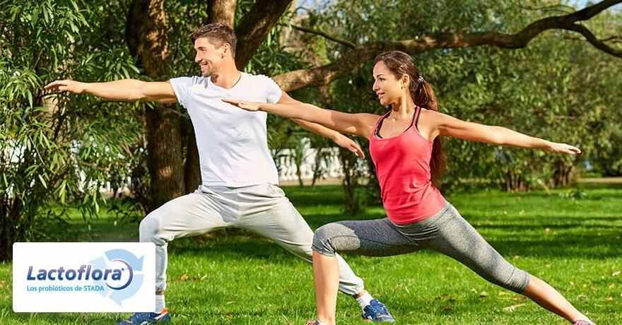 Probióticos y deporte