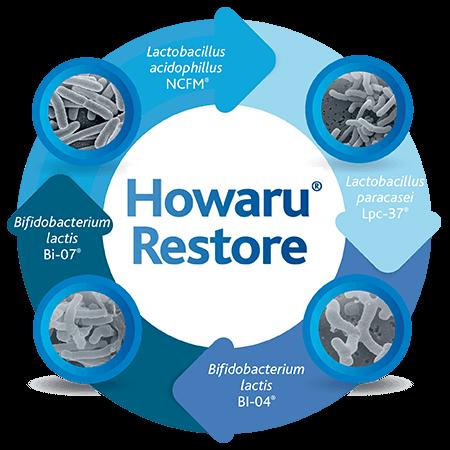 Probioticos Howaru Restore